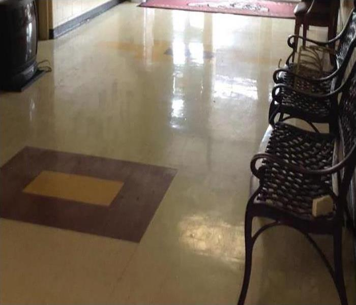 Commercial Water Damage In Bel Air After
