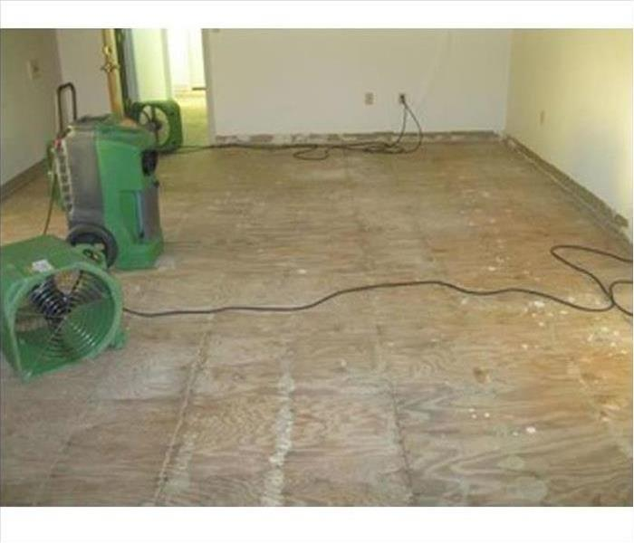 Commercial Water Damage – Bel Air Office After