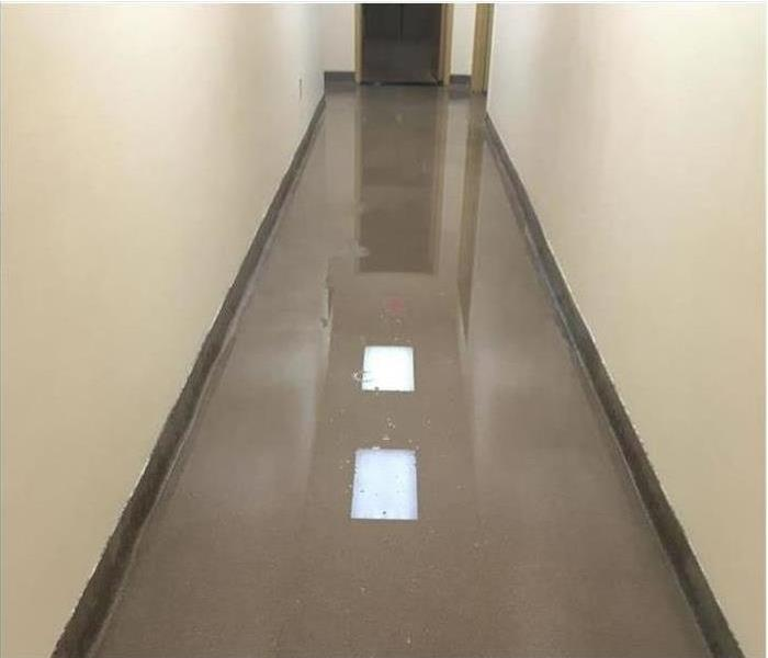 Commercial Water Damage – West Hollywood Before
