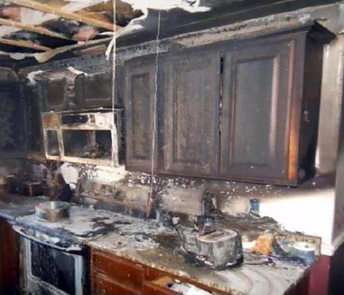 Fire Damage – Bel Air Kitchen