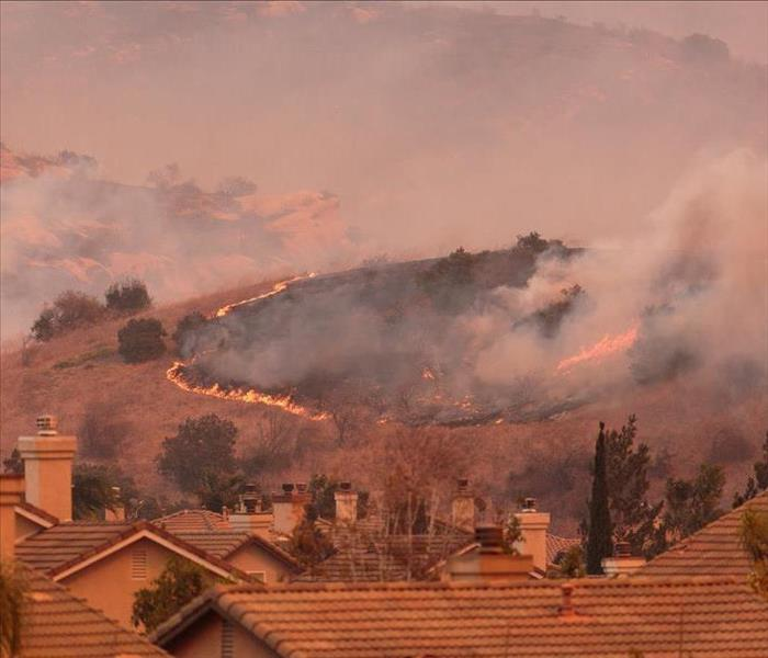 Why SERVPRO Wildfires and House Fires in Bel Air--Why Not Call SERVPRO for Cleanup?