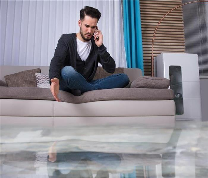 Water Damage SERVPRO - Water Removal Procedures For Hollywood Homes
