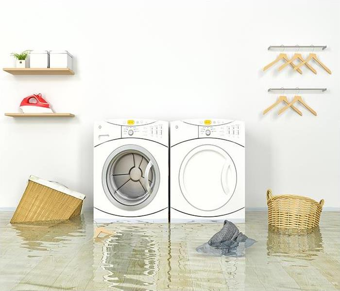 Water Damage What To Do When A Leaking Washing Machine Causes Water Damage